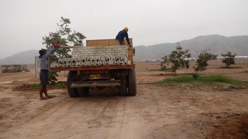 cercos perimétricos de concreto prefabricado en cañete