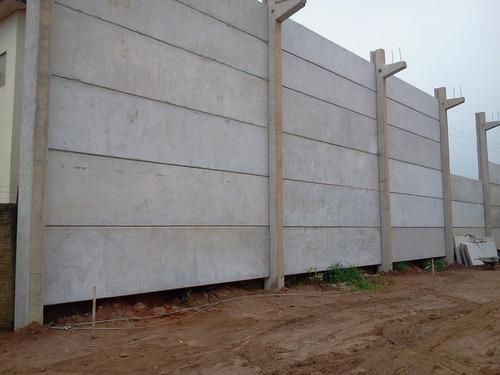 cercos perimetricos prefabricados de concreto,placas y muros