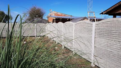 cercos premoldeados economico hormigón -perimetral alambrado