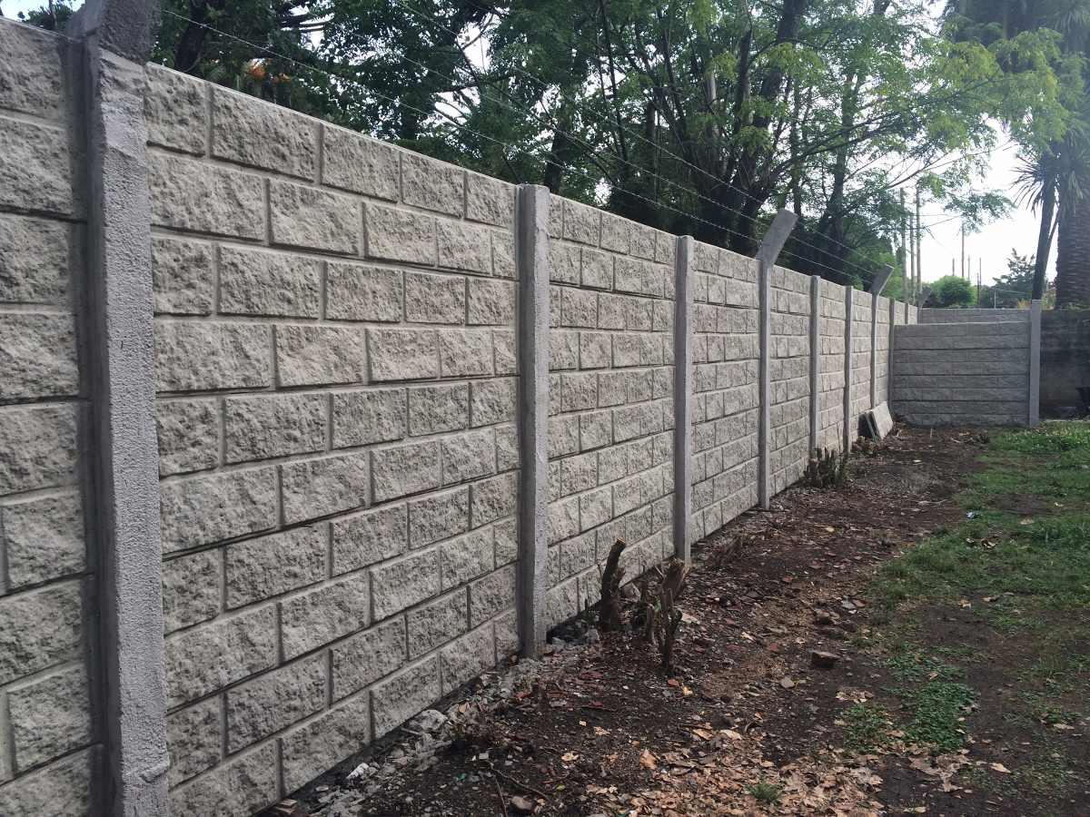 Cercos premoldeados tapiales pared muros casas galpones - Bloques para muros ...