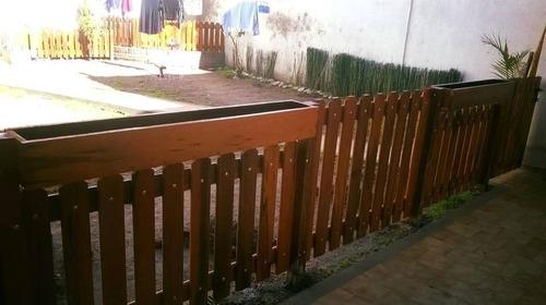 cercos puertas modelo abierto a medida todo en madera dura