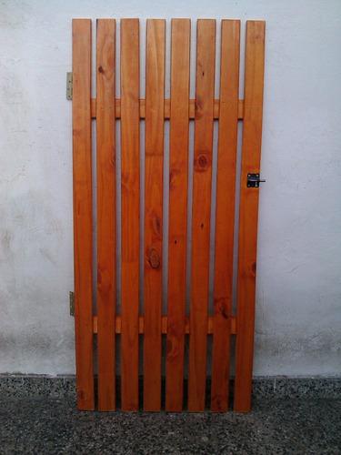 cercos tranqueras decks puertas portones
