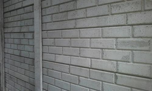 cercos y muros premoldeados ; colocacion