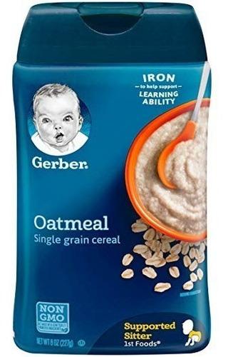 cereal gerber para bebé