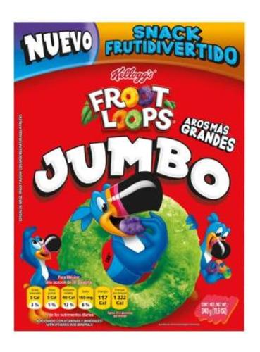cereal kellogg's froot loops jumbo 340 g