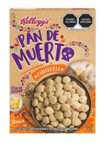 cereal kellogg´s panadería pan de muerto 240 g