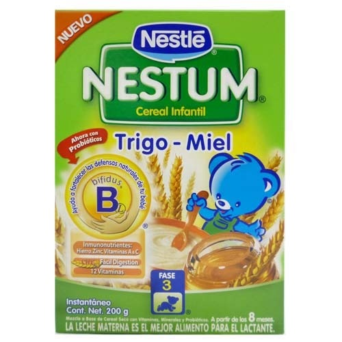 NESTUM TRIGO MIEL X 200GRS