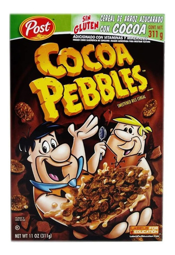 cereal post cocoa pebbles 311 g