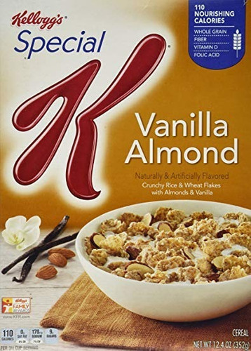 cereal special k de kellogs vainilla y almendras