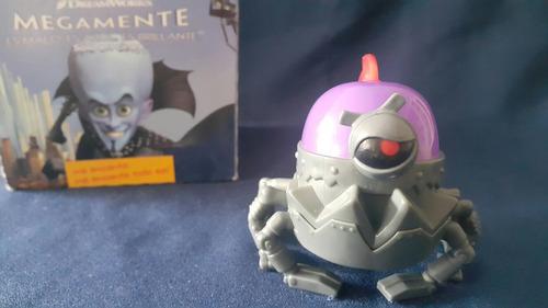 cerebot 3 de megamente juguete mc donald niños y niñas