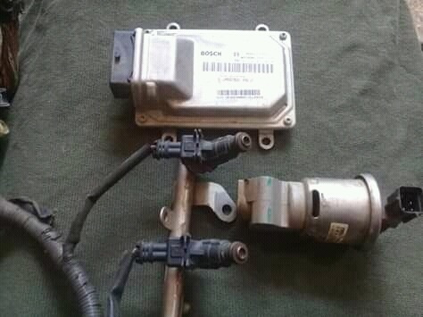 cerebro e inyectores  de keyton m70
