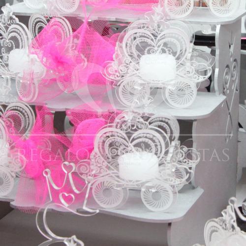 ceremonia de velas carrozas de cristal