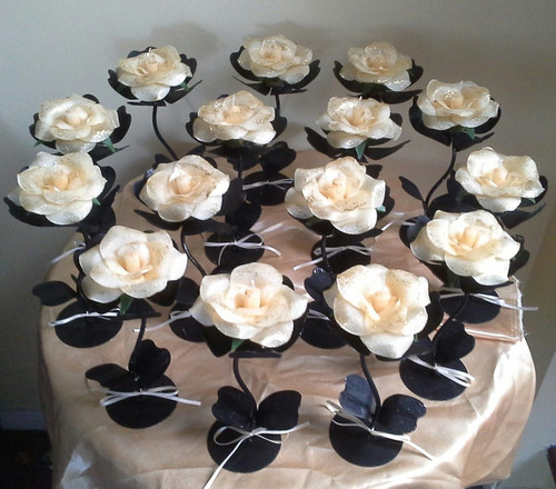 ceremonia de velas, centros de mesa. fiesta de 15.casamiento