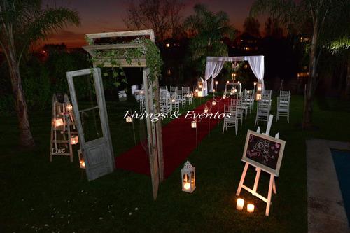 ceremonias altar bodas wedding casamientos  puertas vintage