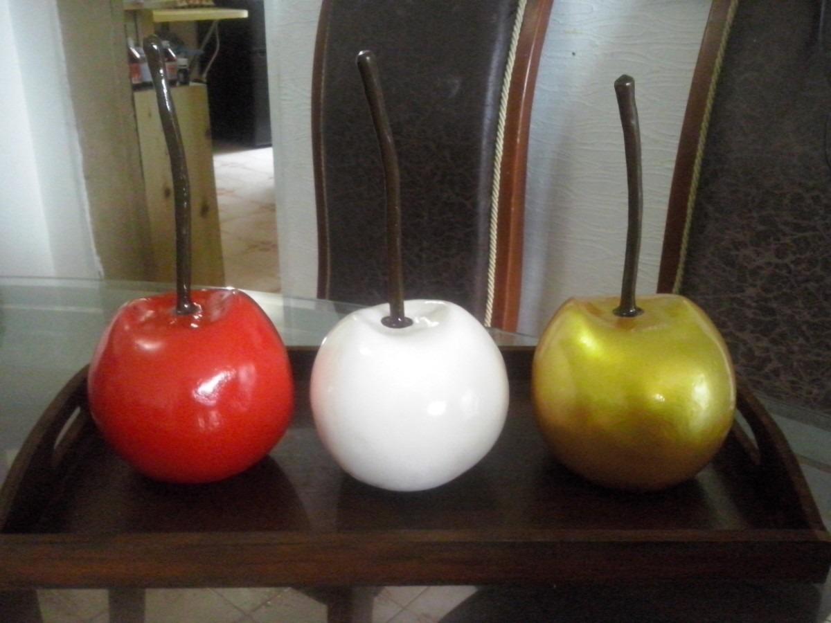 Cerezas frutas decorativas para centros de mesa bs 2 - Centros de mesa de comedor ...