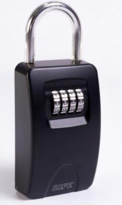 cerradura automatica mas caja de seguridad