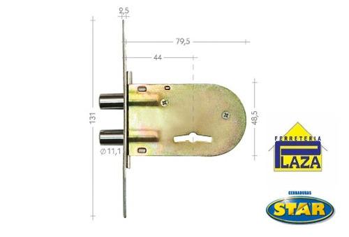 cerradura cerrojo de seguridad star 550s