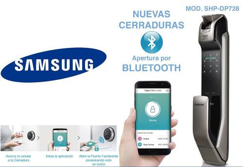 cerradura chapa digital samsung shs-dp728 bluetooth