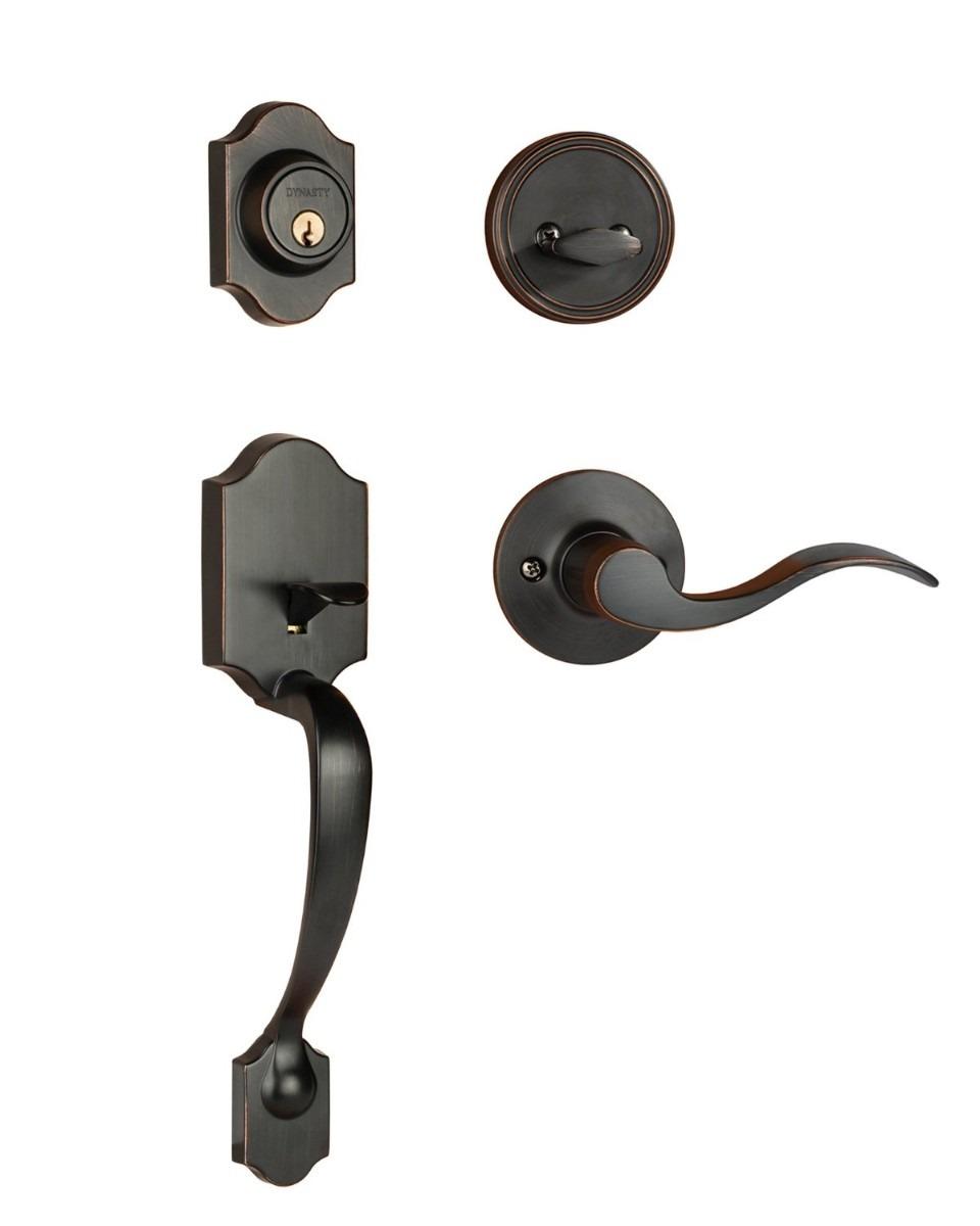Cerradura chapa para puerta exterior interior bronze - Puerta de chapa ...