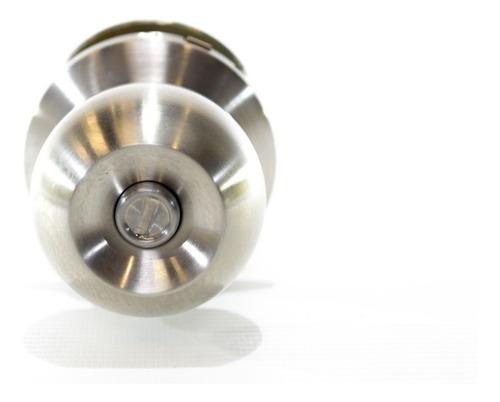 cerradura cilindrica para alcoba con pomo metalico de a vera