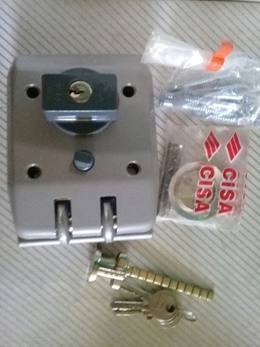 cerradura cisa jimmy proof cilindro suelto movil porton