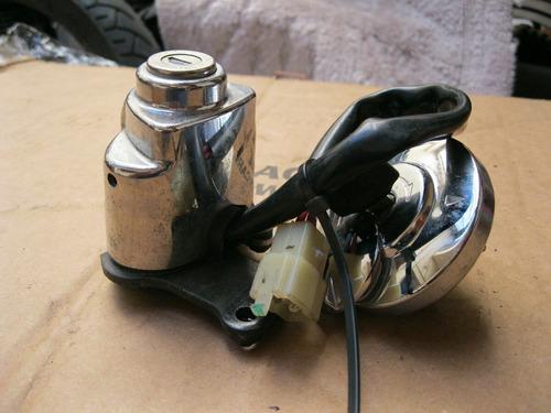 cerradura de contacto, tapa de tanque y llave original