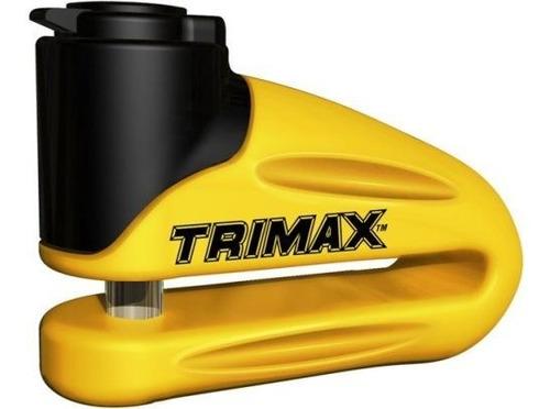 cerradura de disco de metal endurecido trimax t665ly - pasad