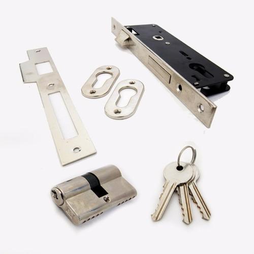 cerradura de embutir 35 mm c/ 3 llaves secutor viii.v