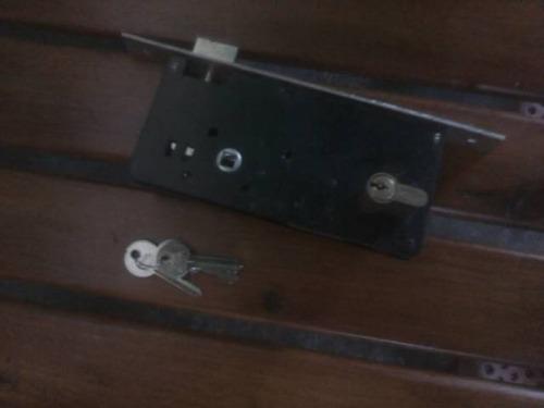 cerradura de embutir