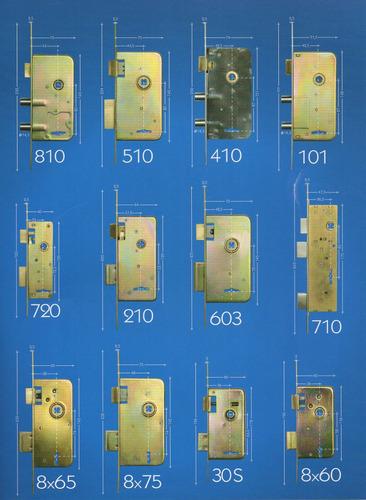 cerradura de seguridad 3 pernos star 310