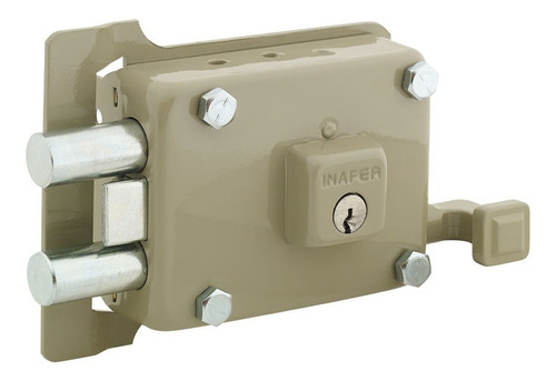 cerradura de sobreponer c999 derecha inafer