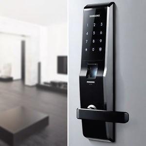 Cerradura Digital Samsung Shs H705 5230 Negro 13 990