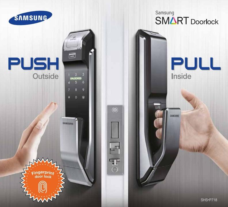 Cerradura Digital Samsung Shs P718 16 499 00 En