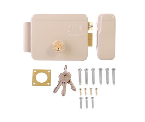 cerradura eléctrica 321dc con llave. cerradura eléctrica der