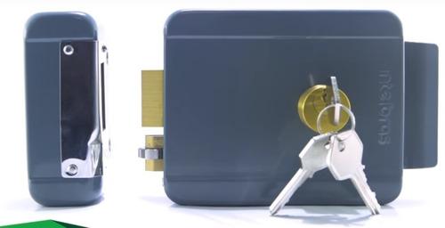 cerradura eléctrica de alta seguridad p/rejas y puertas