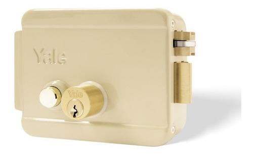 cerradura eléctrica derecha con botón