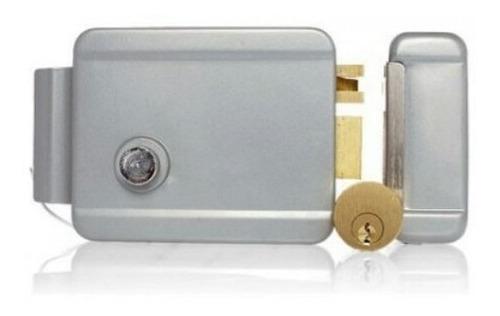 cerradura eléctrica rabbit 12v portón, puertas 3 llaves