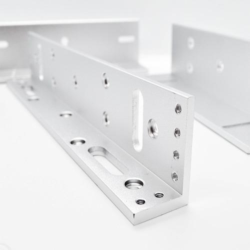 cerradura electro magnetica 600 lbs con herrajes setm280full