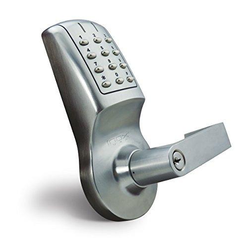 cerradura electrónica comercial de inox el6026d con el telc
