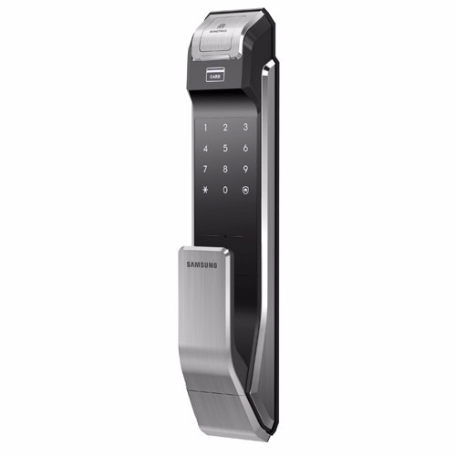 cerradura electronica seguridad huella digit samsung shsp718