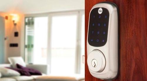 cerradura electronica tactil puerta apartamento casa  fincas