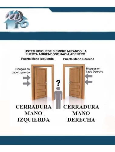 cerradura manual manual