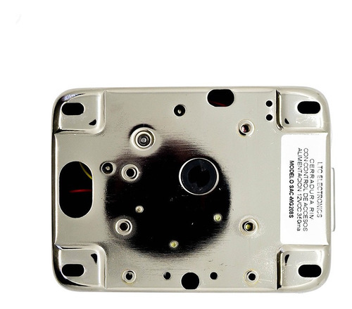 cerradura motorizada de aplicar 12v control acceso m208s