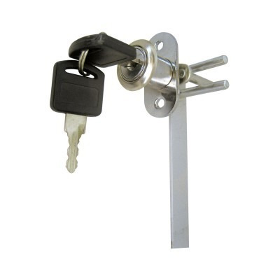Cerradura para caj n con varilla 120 cm dexter for Cerradura para cajon