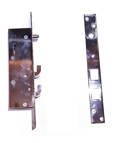 cerradura para puerta corrediza angosta reja porton verashop
