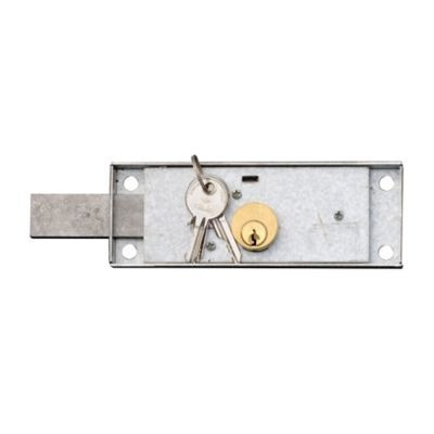 cerradura para puertas arrollables latón izquierda cisa