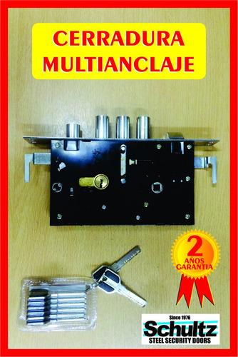 Cerradura para puertas blindadas completas schultz 1 - Cerraduras puertas blindadas ...