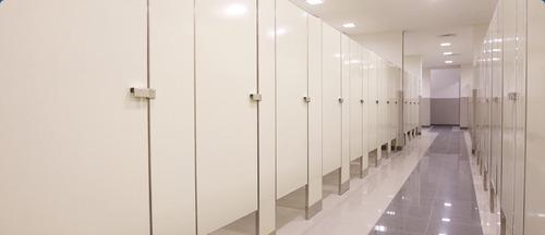 cerradura p/mampara baños publicos, acero inox/envio gratis!