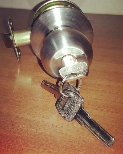 Cerradura pomo con llave multipunto 560 00 en mercado - Pomos con cerradura ...