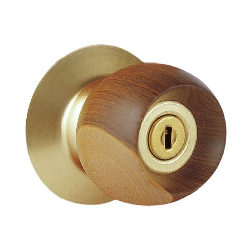 cerradura pomo principal bell wood gold schlage